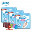 Genki! Tape Mega S82 (3 packs) (FREE Mamabag or Diaper Pouch)