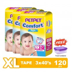 Pet Pet Comfort Tape Mega Pack XL 3x40's