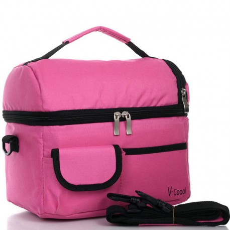 V-Coool Cooler Bag (Rose Pink)