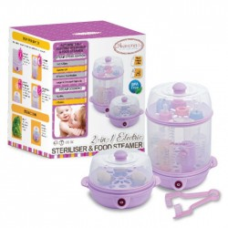 Autumnz 2-in-1 Electric Steriliser / Steamers (Lalic)