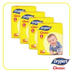 Drypers Classic Open L60 (4 Packs)