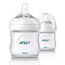 Philips Avent Natural Bottle 4oz/125ml (Twin Pack)