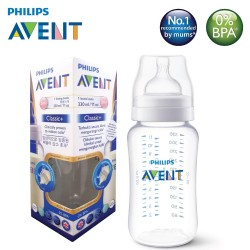Philips Avent Polyamide Classic + Feeding Bottle 11oz/330ml (Single Pack)