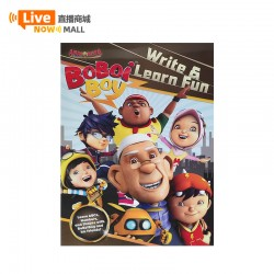 Animonsta Boboiboy Write& Learn Fun