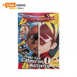 Animonsta Boboiboy Superfun Colouring & Activity 1