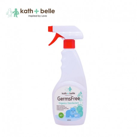 Kath + Belle Germs Free Organics Disinfectant 400ml