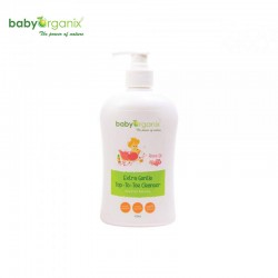 BabyOrganix Extra Gentle Top to Toe Cleanser (Rose Oil)