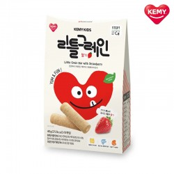Korean Kemy Kids Little Grain Baby Snacks (Strawberry)