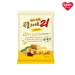 Korean Kemy Premium Grain Crispy Roll 21 Healthy Snacks (Cream Cheese)