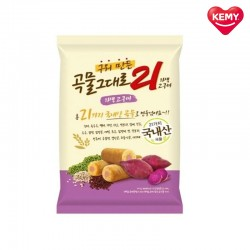Korean Kemy Premium Grain Crispy Roll 21 Healthy Snacks (Sweet Potato)