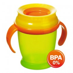 'Lovi 360 Cup With Handles (210ml) Mini - Green'