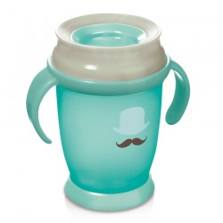 'Lovi 360 Cup Retro With Handles  (250 ml) Junior -Mint'