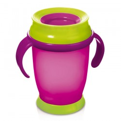 'Lovi 360 Cup With Handles (250ml) Magenta Junior'