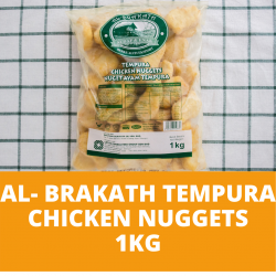Lox Al-Brakath Tempura Chicken Nuggets 40-45 pcs (1kg)