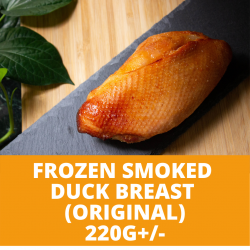 Lox Original Smoked Duck Breast (220g+/-)