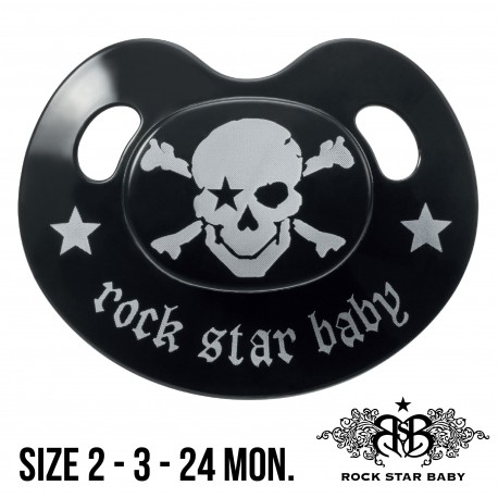 Silicone Pacifiers Ortho - PIRATE