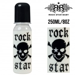 Rock Star Baby Narrow Neck Bottles - PIRATE (250ML/8OZ)