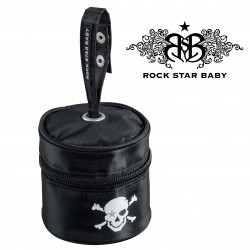 Rock Star Baby Pacifier Bag PIRATES