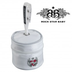 Rock Star Baby Pacifier Bag - HEART & WINGS