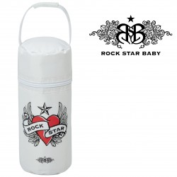 Rock Star Baby Insulated Bottle Tote - HEART & WINGS