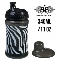 Rock Star Baby Cup - ZEBRA (340ML/11OZ)