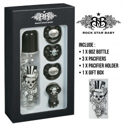 Rock Star Baby Gift Set 2 - TATTOO PIRATE