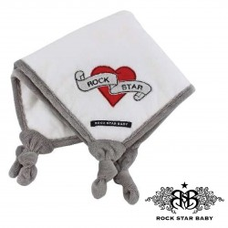 Rock Star Baby Cuddle Cloth - HEART & WINGS