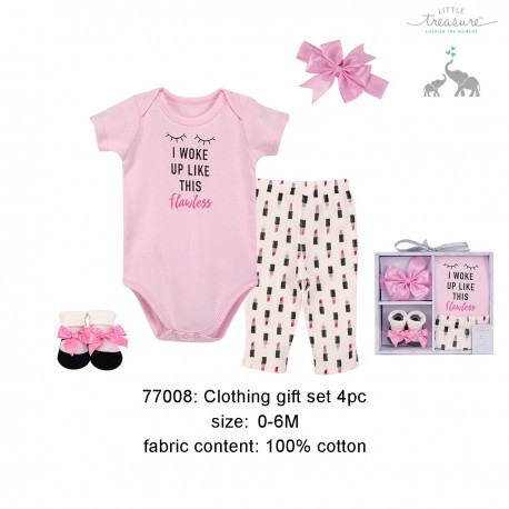 Little Treasure Clothing Gift Set - Flawless (4pcs)