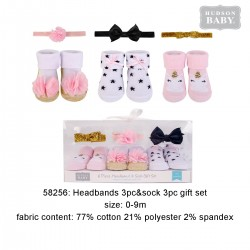 Hudson Baby Headband and Socks Gift Set - Unicorn (6pcs)