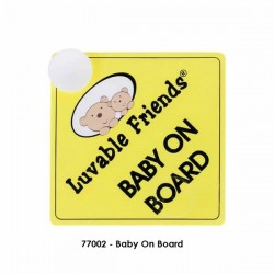 Luvable Friends Baby On Board - 77002