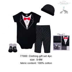 Little Treasure Clothing Gift Set 4pc (Gentlemen)