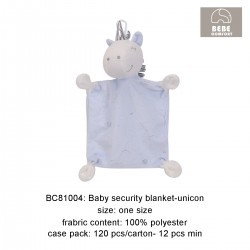 Bebe Comfort Baby Security Blanket (Unicorn) - BC81004