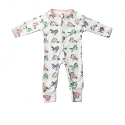 Luvable Friends Little Star Baby Zips Sleepsuit with Cover - LS55256A
