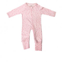 Luvable Friends Little Star Baby Zips Sleepsuit with Cover - LS55256B