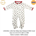 Little Star Baby Zips Sleepsuit with Cover - LS55256L