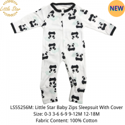 Little Star Baby Zips Sleepsuit with Cover - LS55256M