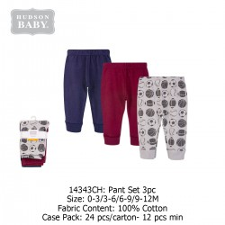 Hudson Baby Tapered Ankle Pants (3's/Pack) 14343CH