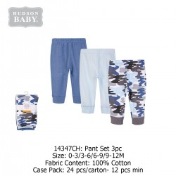 Hudson Baby Tapered Ankle Pants (3's/Pack) 14347CH