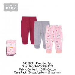 Hudson Baby Tapered Ankle Pants (3's/Pack) 14359CH