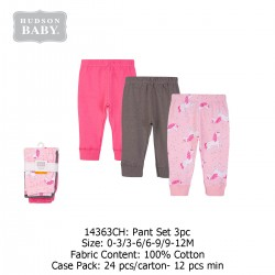 Hudson Baby Tapered Ankle Pants (3's/Pack) 14363CH