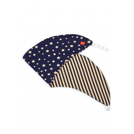 Mamaway Antibacterial Maternity & Feeding Pillow Case - Navy Galaxy (Cover ONLY)