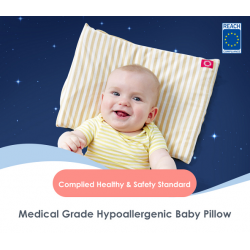 Mamaway Medical Grade Hypoallergenic Baby Pillow