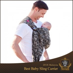 Mamaway Camouflage Print ​Baby Ring Sling