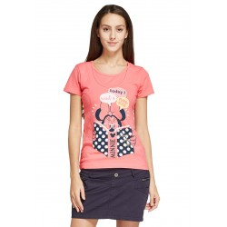 Mamaway Disney Minnie Maternity & Nursing Tee (Pink)