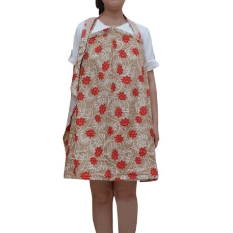 Heliantus Series Nursing Cover with Wide Hooter Hider (Design F)