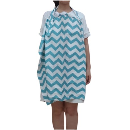 Heliantus Series Nursing Cover with Wide Hooter Hider (Design I)