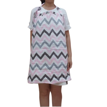 Heliantus Series Nursing Cover with Wide Hooter Hider (Design J)