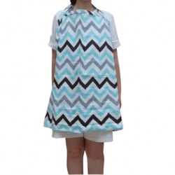 Mamma Palace Heliantus Series Nursing Cover with Wide Hooter Hider (Design M)