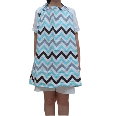 Heliantus Series Nursing Cover with Wide Hooter Hider (Design L)