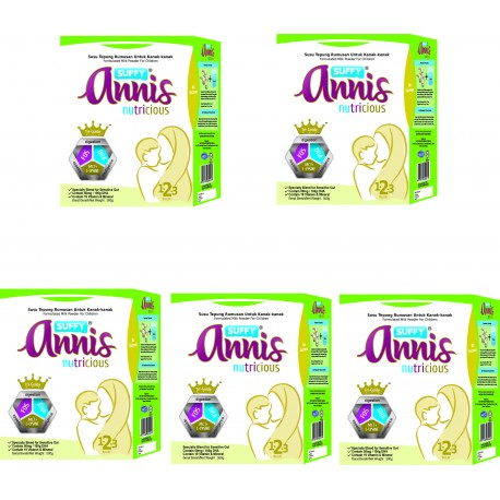 Suffy Annis Nutricious (1-3 years) 500g (5 packs)